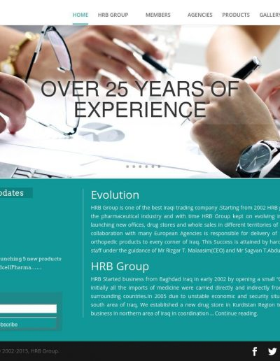 HRB-Group-Website