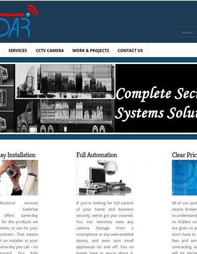 Sadar-Sat-Company-Website