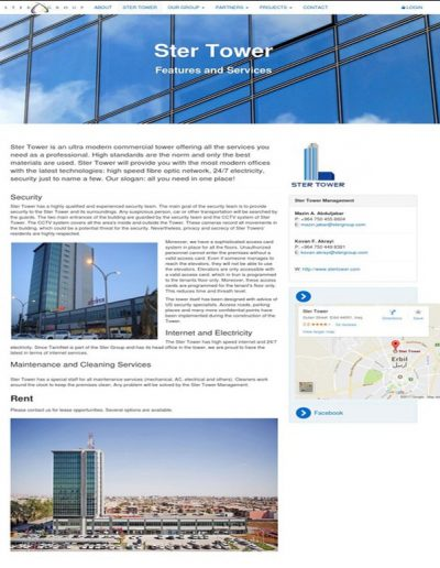 Ster-Tower-Company-Website