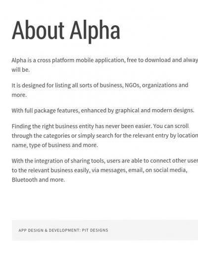 alpha-app-website
