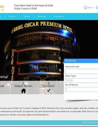 erbil-oscar-hotel-website