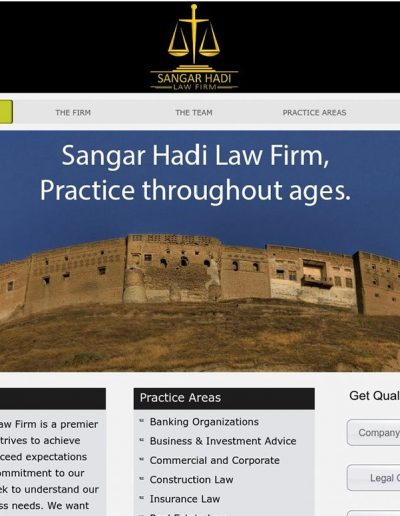 sangar-lawfirm-website